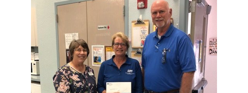 Monarch Utilities Donates to Hood County Senior Center