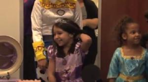 SWWC, Make A Wish, Helps Zaria With Her Dream