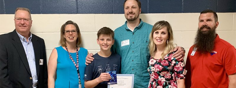 SouthWest Water Sponsors Writing Contest at Hays CISD